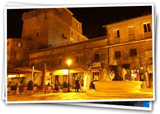 The Historic Center - Main Square - San Felice Circeo, Latina, Italy - Holiday Home rental by owner