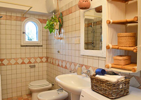 Bad - Ferienhaus in San Felice Circeo, in Circeo National Park