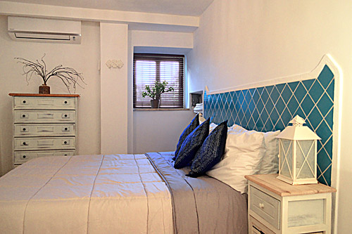 Blue double room - Holiday House in San Felice Circeo in the Circeo National Park