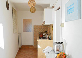 Kitchen - Holiday House in San Felice Circeo in the Circeo National Park