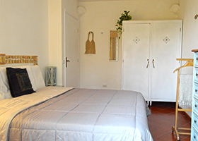Green double room - Holiday House in San Felice Circeo in the Circeo National Park