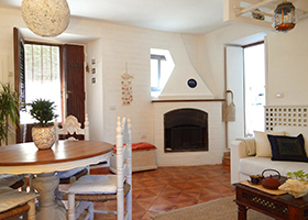 The Living Room - Holiday House in San Felice Circeo in the Circeo National Park